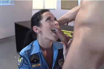 Jayden Jaymes - big titted cop babe